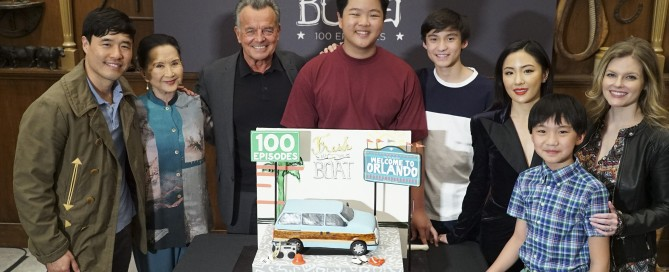 Fresh Off the Boat celebrates milestone