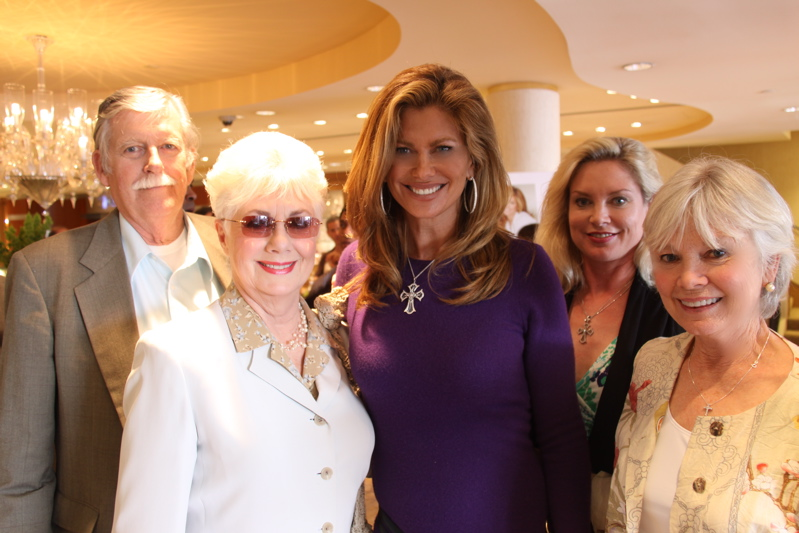 The original Hollywood Mom, Shirley Jones (left), attends Kathy Ireland's ...