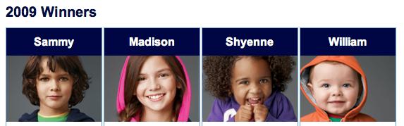 gap kids modeling contest