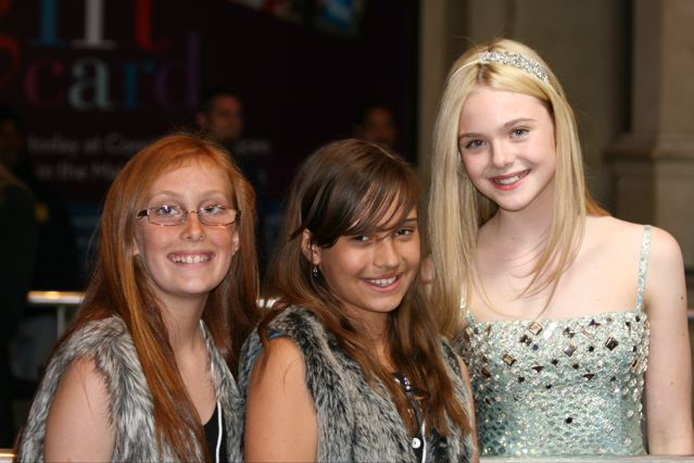 Elle Fanning at the premiere of THE NUTCRACKER in 3D