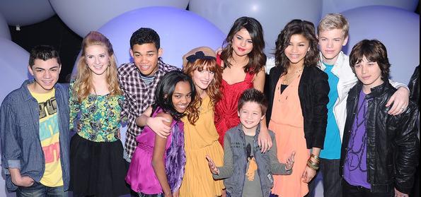 Disney Child Stars Upfront 2011
