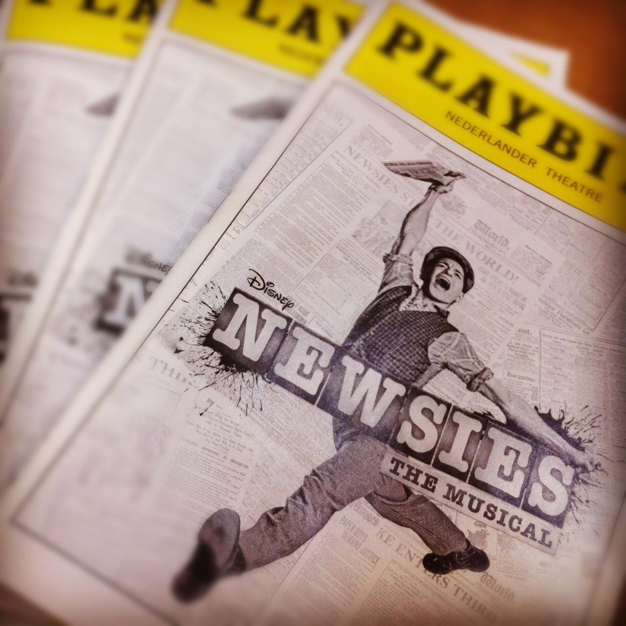 Disney s Newsies the Broadway Musical - IMDb