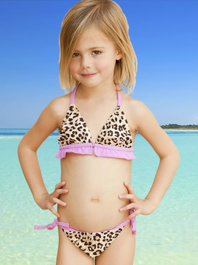 Very Young Little Girl Models
