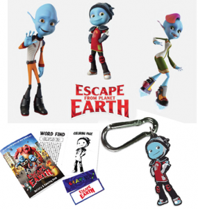 Prize Pack Escape from Earth