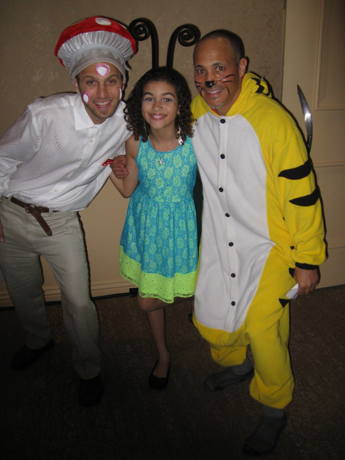 Moni with Aaron Ableman and Dave Room of Pacha's Pajamas