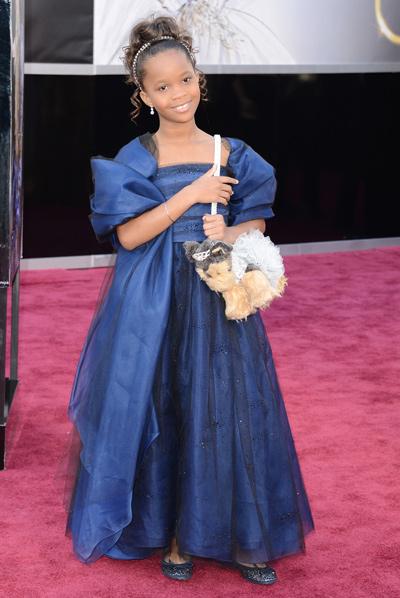 Wallis red carpet Oscars 2013