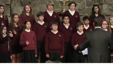 Middle School choir ERIC ROUSE