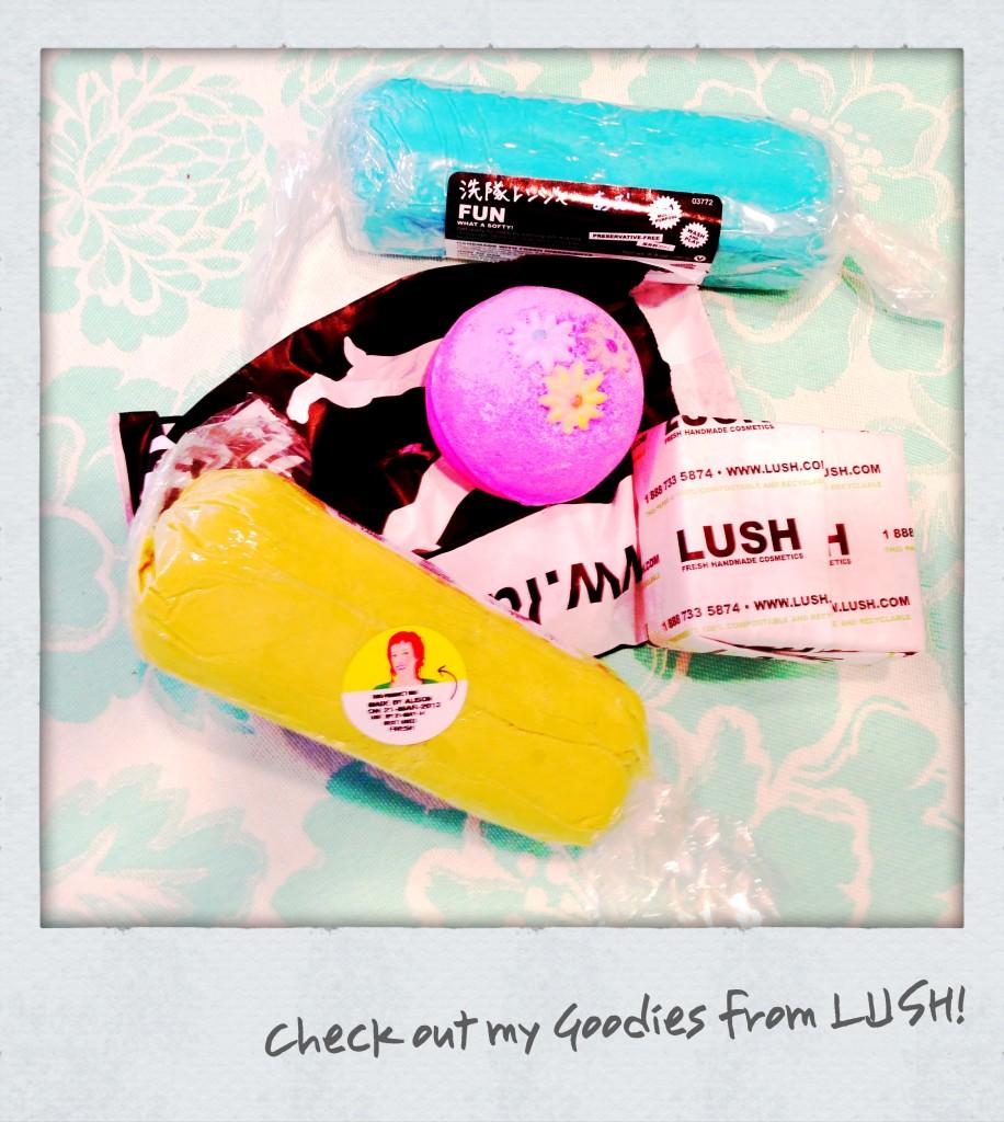 LUSH HMB Gift