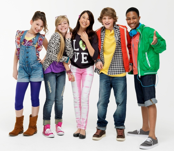 KIDZ BOP has been invited to attend and walk Disney's Red Carpet for the 2013 Radio Disney Music Awards on April 27, 2013. KB members From Left: Eva Agathis, Hannah Yorke, Charisma Kain, Steffan Argus, and Elijah Johnson.