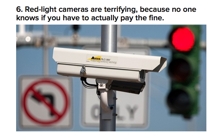red light camera cover