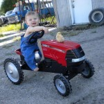 tractor baby