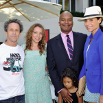 Brian Grazer Minnie Driver David  CMH