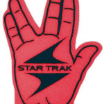 live long and prosper foam fingers