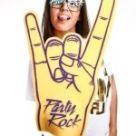 party rock foam finger
