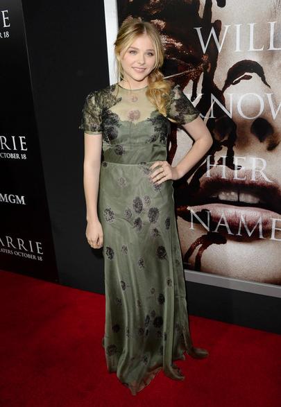 Chloe Moretz CARRIE premiere
