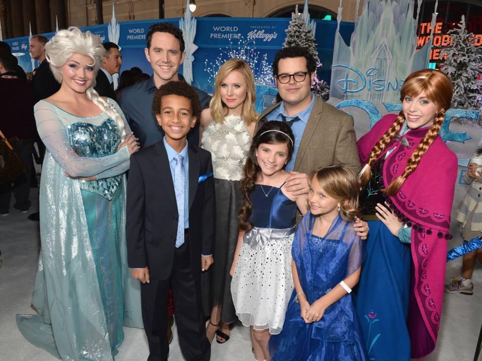 The Cast of Disney's Frozen