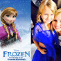 Teen Actor Jordan Bobbitt and FROZEN Child Star Livvy Stubenrauch and Kristen Bell