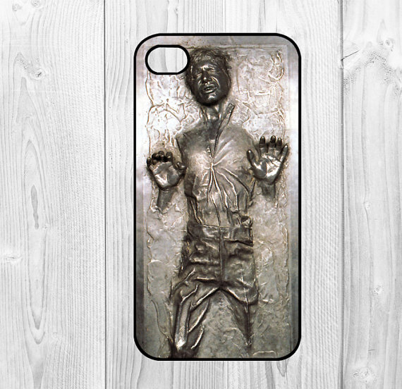 hans solo iphone case