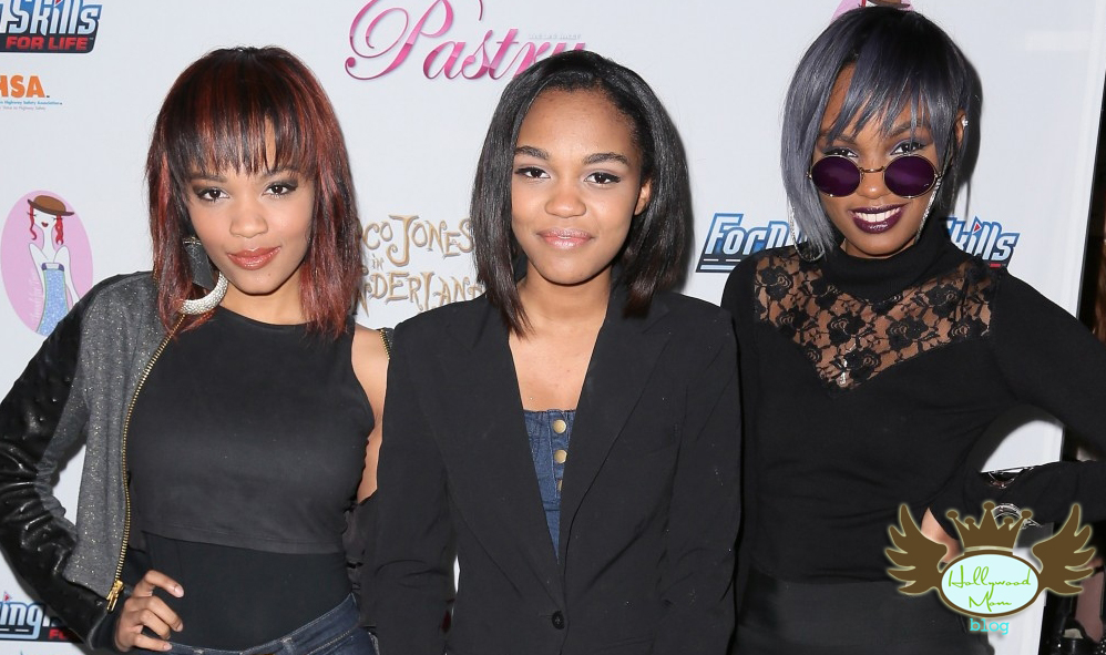 China Anne McClain and her sisters arrive at Ford & Pastry's Birthday Bash for Coco Jones!