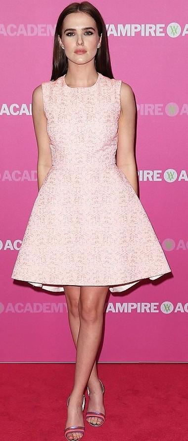 Peach Dress Zoey
