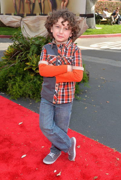 Disney Child Star August Maturo at The Pirate Fairy Release Party and Premiere.