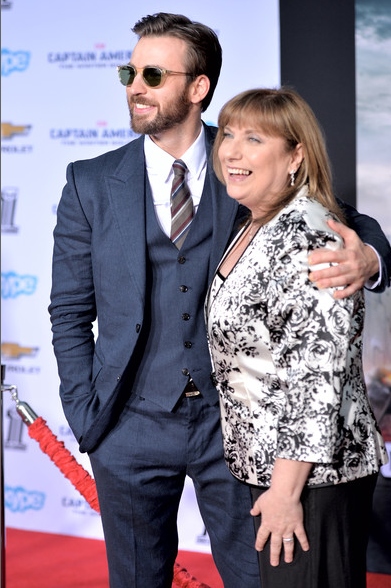 Chris Evans and Hollywood Mom Lisa Evans
