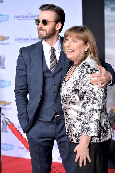 Chris Evans and Hollywood Mom Lisa Evans