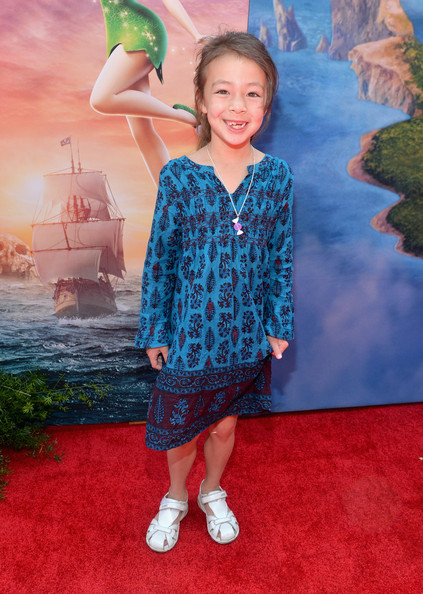 Modern Family Child Star Aubrey Anderson Emmons at The Pirate Fairy Release Party and Premiere.