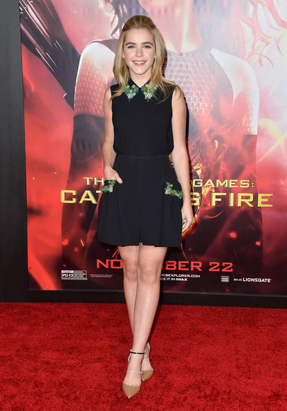 #6: Nov 2013: In Miu Miu at The Hunger Games: Catching Fire premiere