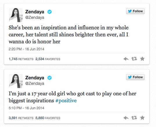 Zendaya twitter