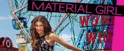 Zendaya Material Girl Cover