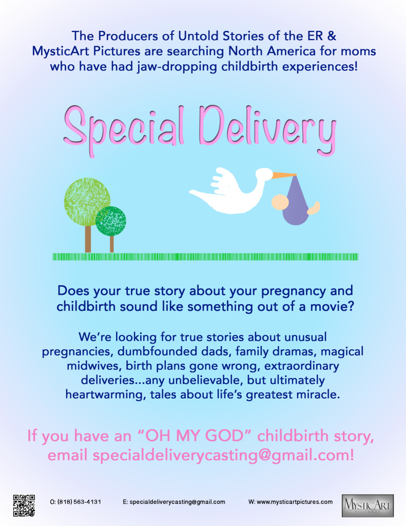 Special Delivery TV Show Casting MOMS