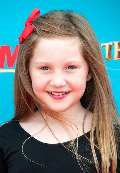 Child Star Ella Anderson at the L.A. Premiere of The Boxtrolls