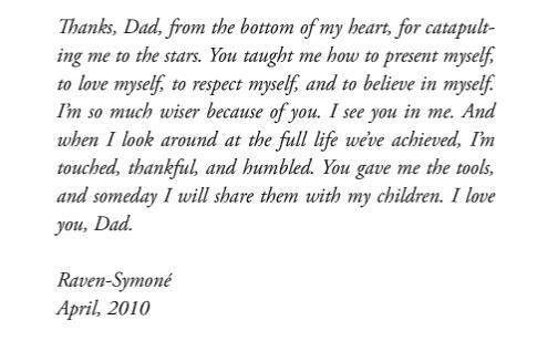 Raven Symone on Dad Chris Pearman