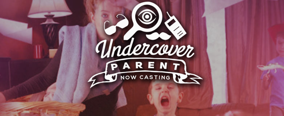undercover parents tv show now casting parent and 2 or more kids