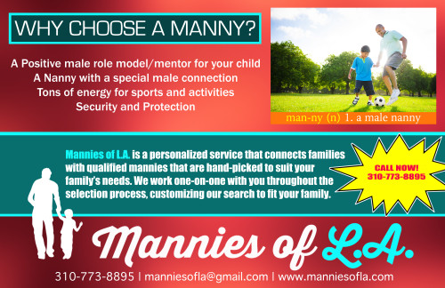 Mannies of L.A. will care for your child actors