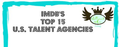 IMDBs TOP 15 US TALENT AGENCIES