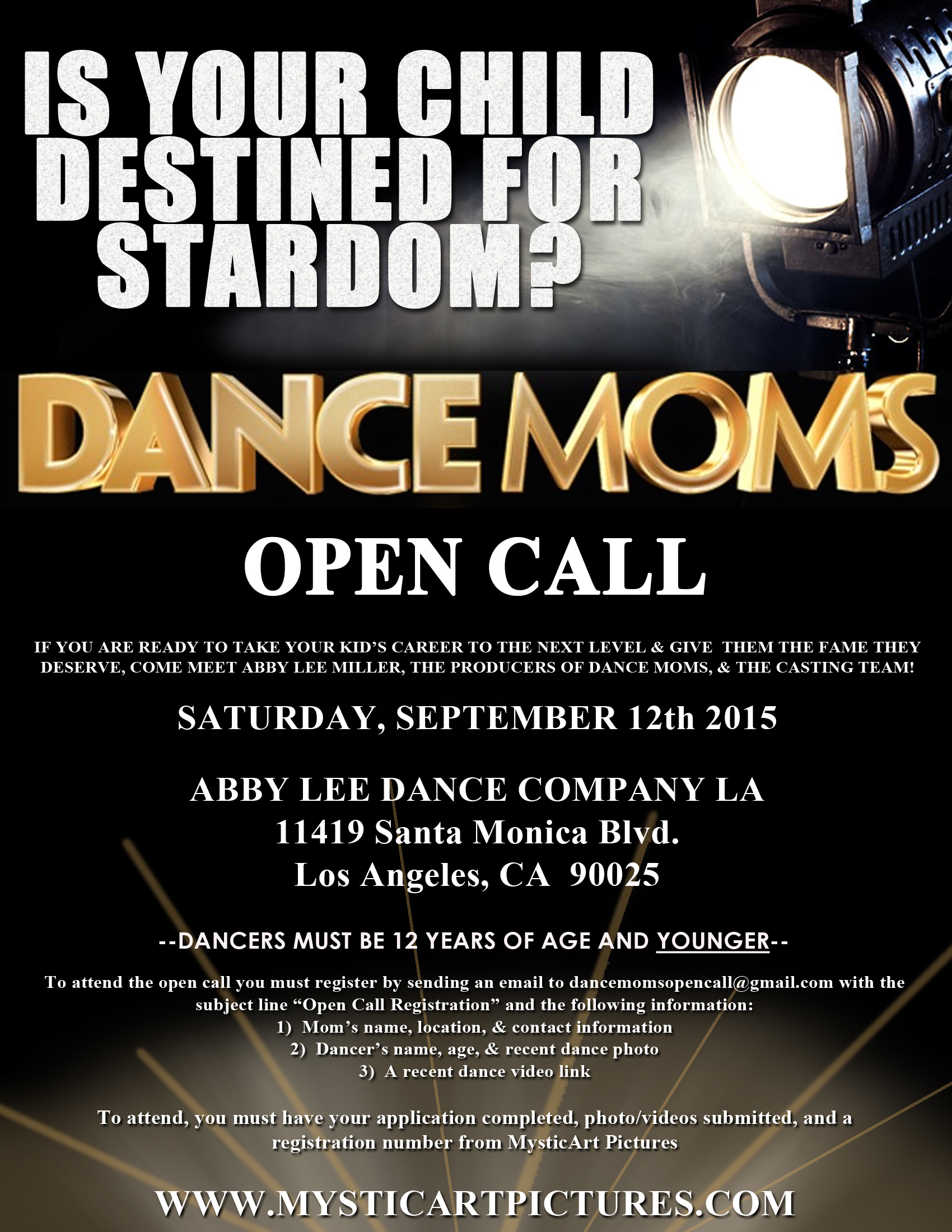Casting Young Dancers For Dance Moms Hollywood Mom Blog