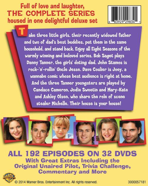 Full House on DVD