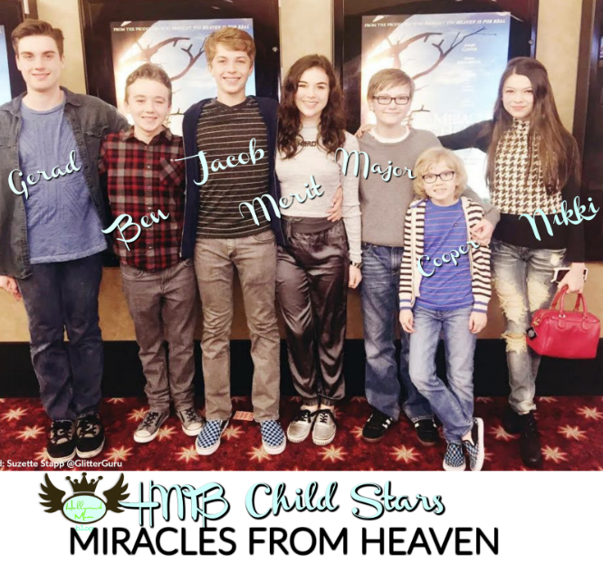 HMB Child Stars Attend VIP Screening MIRACLES FROM HEAVEN!