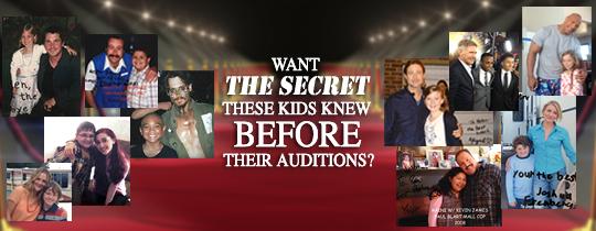 child actors top audition secret