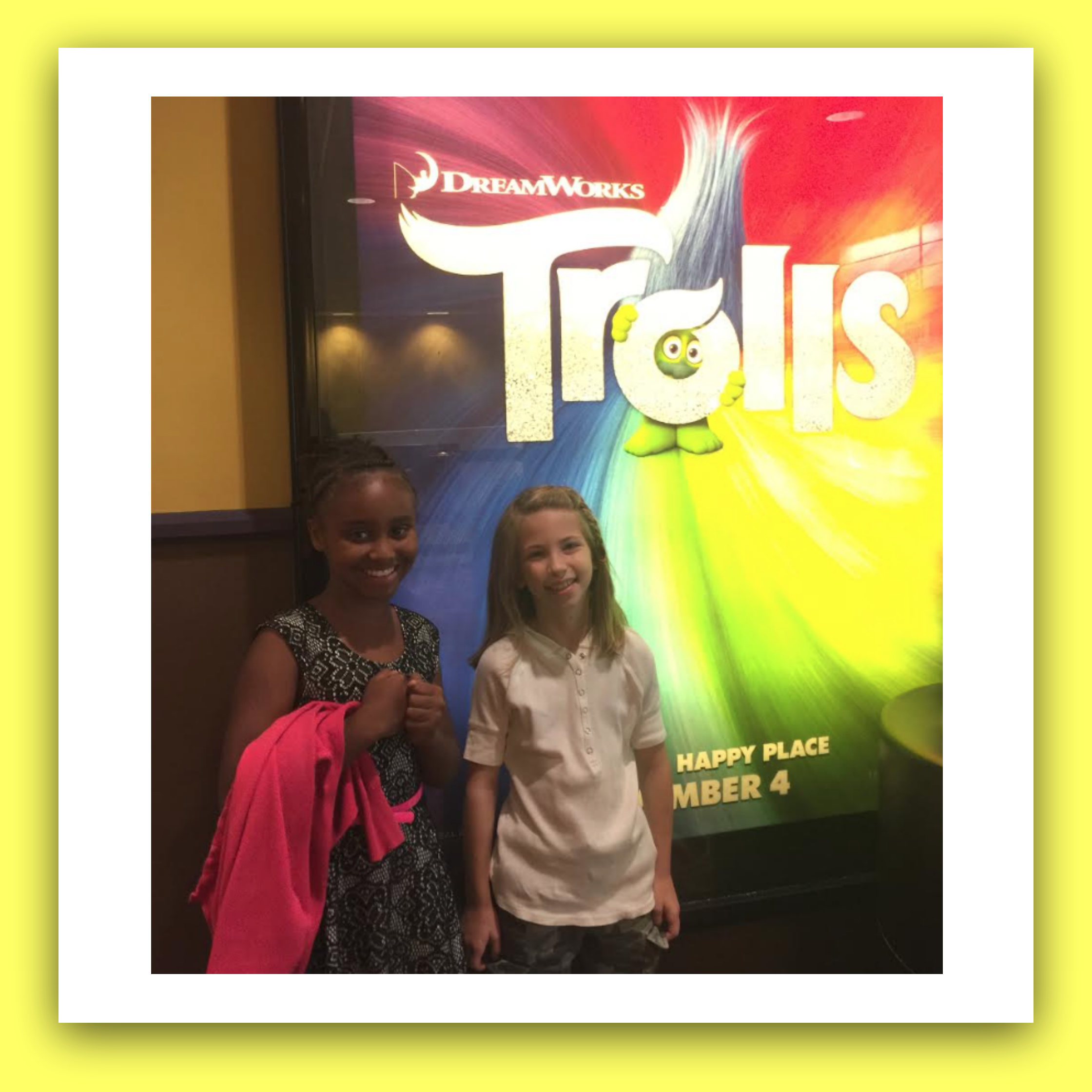 Child Actors Dana Heath (left) and Emmy DeOliveira (right).