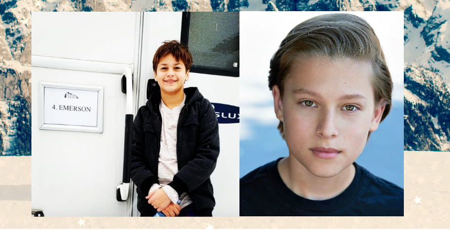 Child Actors Julian Grey and Ammon Jacob Ford have been cast as fraternal twins in DOWNHILL