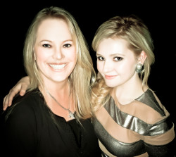 Tracy bobbitt and Abigail Breslin